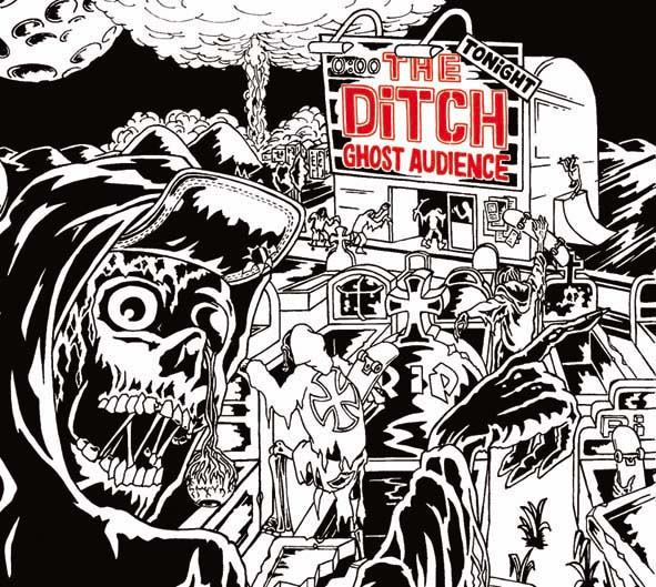"""The DITCH (Saint Etienne, old school Punk / HC) """"Ghost audience"""" CD"""