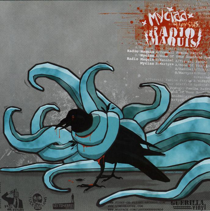 """MYCIAA / RADIO MAQUIS split 7"""" EP"""